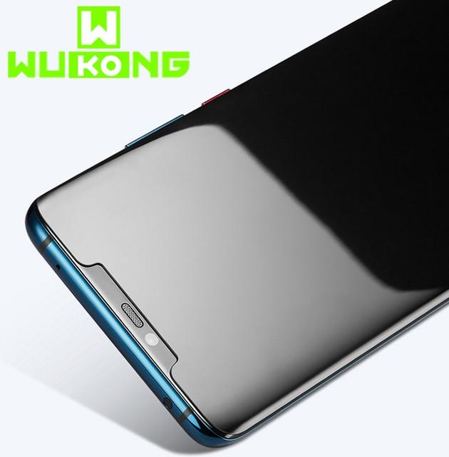 Huawei Mate30Pro Mate40 Pro P30 Pro P40 Pro 용 액체 UV 접착제 강화 유리 Samsung note 20 ultra 용 UV 스크린 보호기