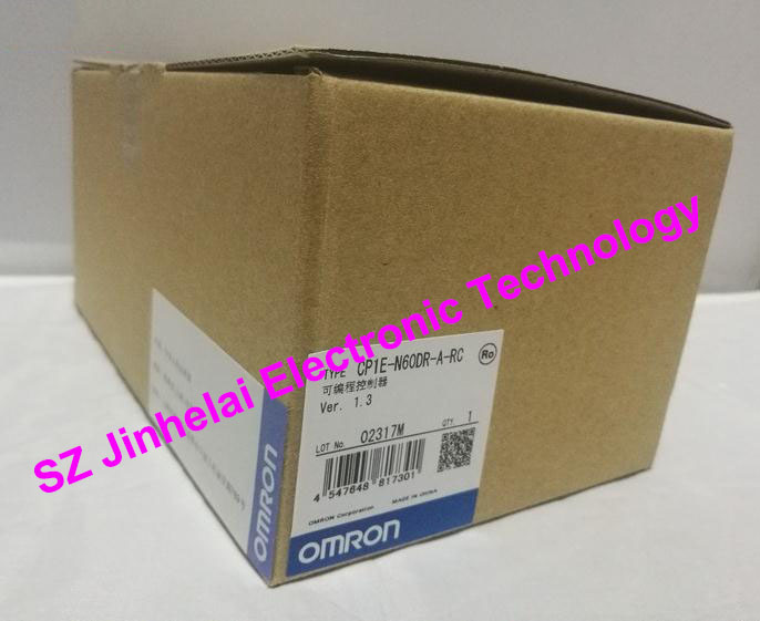 100% New and original  CP1E-N60DR-A-RC  OMRON PLC CONTROLLER new original programmable logic controller cp1e n60dr a rc full replace cp1e n60dr a 100 240v
