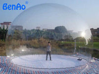 GB02 BENAO Advertising inflatables / inflatable Transparent tent / inflatable show ball & Repair Kits & Blower Factory Price