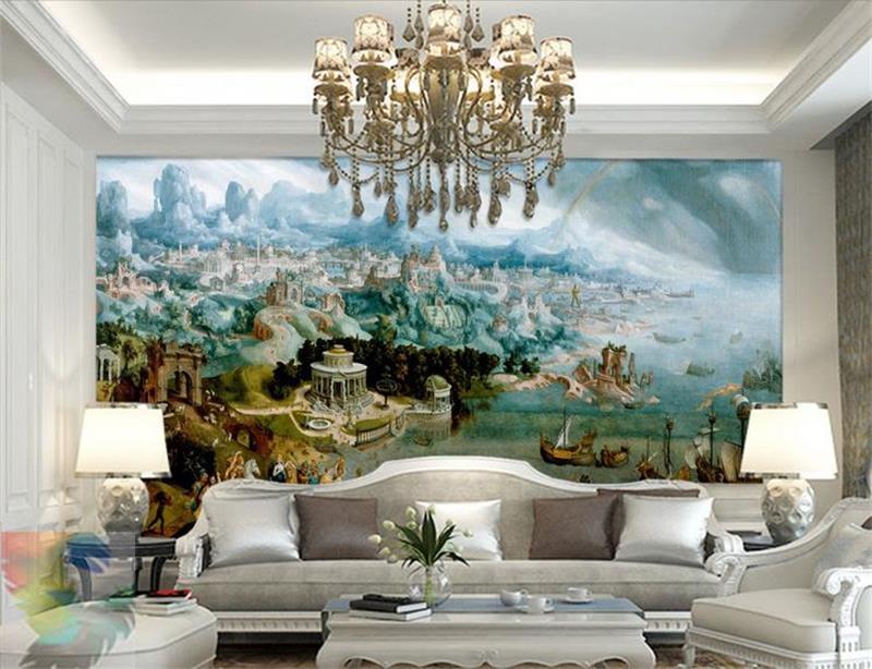 Systematisch 3d Room Wallpaper Benutzerdefinierten Wandbild Vlies Bild Helen In Die Wunder Der Alten Welt Wandmalerei Fototapete Für Wände Einfach Zu Verwenden
