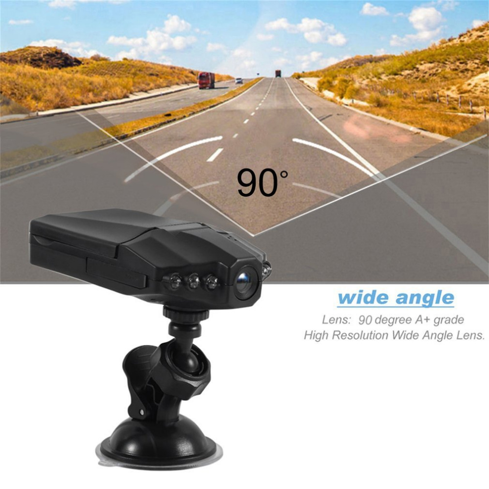 Professional Universal 2.5 Inch Full HD 1080P Car DVR Vehicle Camera Video Recorder Dash Camera Infra-Red Night Vision Black bigbigroad for nissan qashqai car wifi dvr driving video recorder novatek 96655 car black box g sensor dash cam night vision