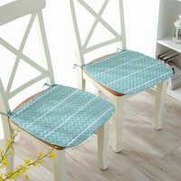 43*43 тонкое хлопковое обеденное сидение для стула в скандинавском стиле офисная подушка для сиденья домашняя декоративная подушка для диван...