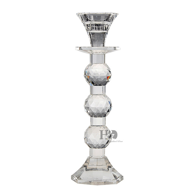 tall crystal glass pillar candle holder wedding party house dinning table lamps 94 inch