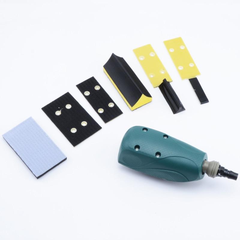 Pneumatic Orbital Sandpaper Machine Multi function Brushed Reciprocating Grinder Line Polishing Pneumatic Tools in Pneumatic Tools from Tools