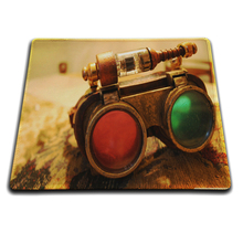 MaiYaCa Steampunk Glasses Mouse Mat Computer Laptop Notbook