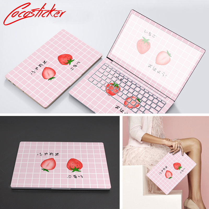 Laptop Stickers Skin For Xiaomi air 12.5/air 13.3/PRO 15.6 Full Cover Vinyl Notebook Skin ABC Sides+Keys+Key Interstice Stickers ...