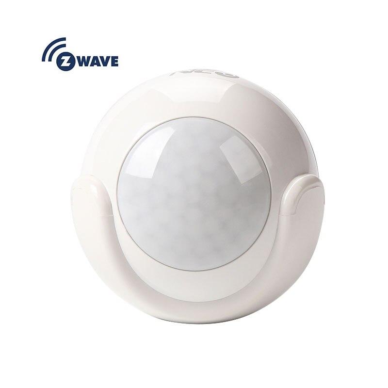Alarme de détecteur de mouvement PIR z-wave pour système d'alarme domotique Zwave