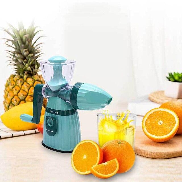 Multifunction Portable DIY Manual Juicer Fresh Apple Orange wheatgrass juicer Machine Health Kitchen Tools extracteur 1