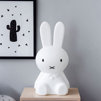 Rabbit Night Light Led Lamp Dimmable for Baby Children Kids Gift Animal Cartoon Decorative Bedside Bedroom Living Room 30CM/50CM