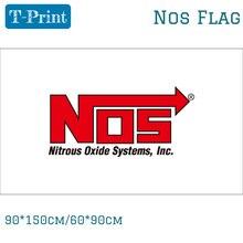 NOS флаг NOS баннер 90x150 см 60x90 см, цифровая печать украшение события