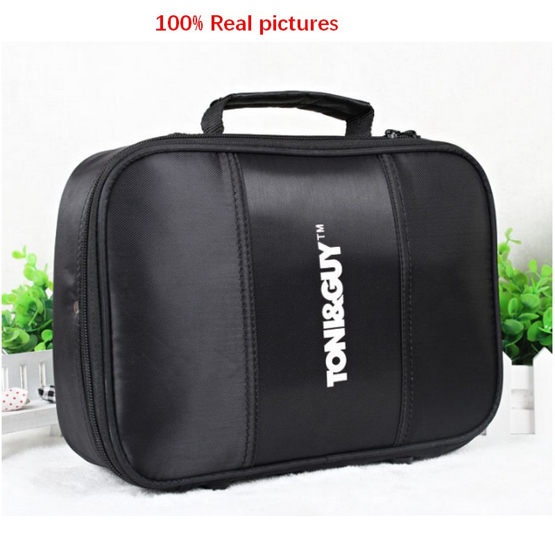 2017 Barber Tools Bag Portable Leatherette Salon Hairdressing Hair Styling Tools Clipper Comb Scissors Case Storage Bag