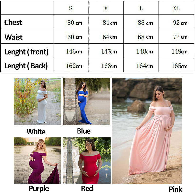 737f423584900 2019 Baby Shower Dress Sweetheart Maternity Gown Photography ...
