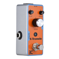 EX Electric Guitar Tremolo Effect Pedal Full Metal Shell True Bypass