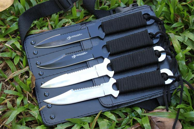 4 in 1 Pocket Knife Tactical Fixed Blade Knife Survival Outdoor Hunting Camping Knives Knife
