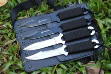 ( 4 in 1), Pocket Knife Tactical Fixed Blade Knife Survival Outdoor Hunting Camping Knives Knife tools + Sheath
