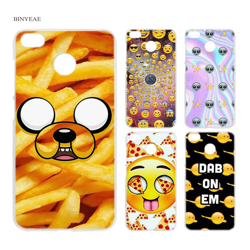 BINYEAE boss Bitch mode on pink please Emoji art Clear Case Cover Shell for Xiaomi Redmi ...