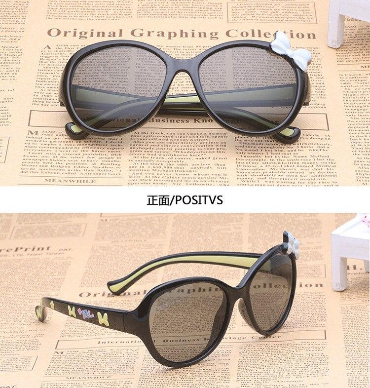 Kids Sunglasses girl Sun glasses Children Glasses Cute Designer Fashion Light comfortable silicone sunglasses prescription 616 in Sunglasses from Mother Kids