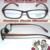Custom made lentes ópticas óptica full-aro TR90 perna de Madeira preto Brilhante quadro óculos de Leitura + 1 + 1.5 + 2 2.5 + 3 + 3.5 + 4 + 4.5 + 5 + 6