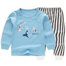 children pajamas children sleepwear baby pajamas sets boys girls animal pyjamas pijamas cotton nightwear clothes kids clothing