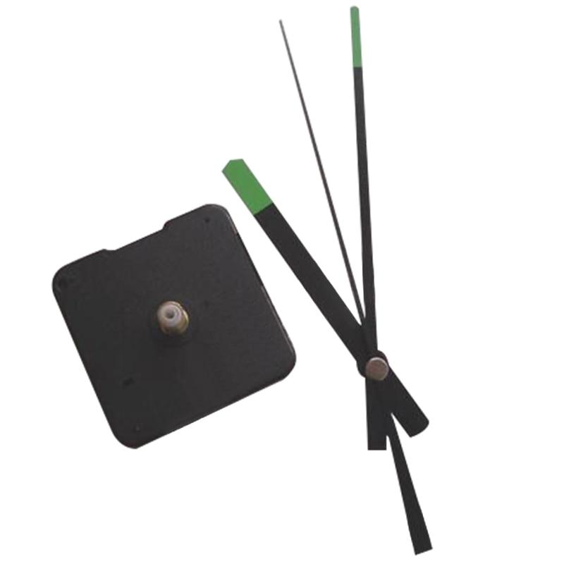 1 Satz Neue Einzigartige Design Quarz Uhr Bewegungen Mechanismus Teile Diy Durable Werkzeuge Mit Grünen Händen Stille