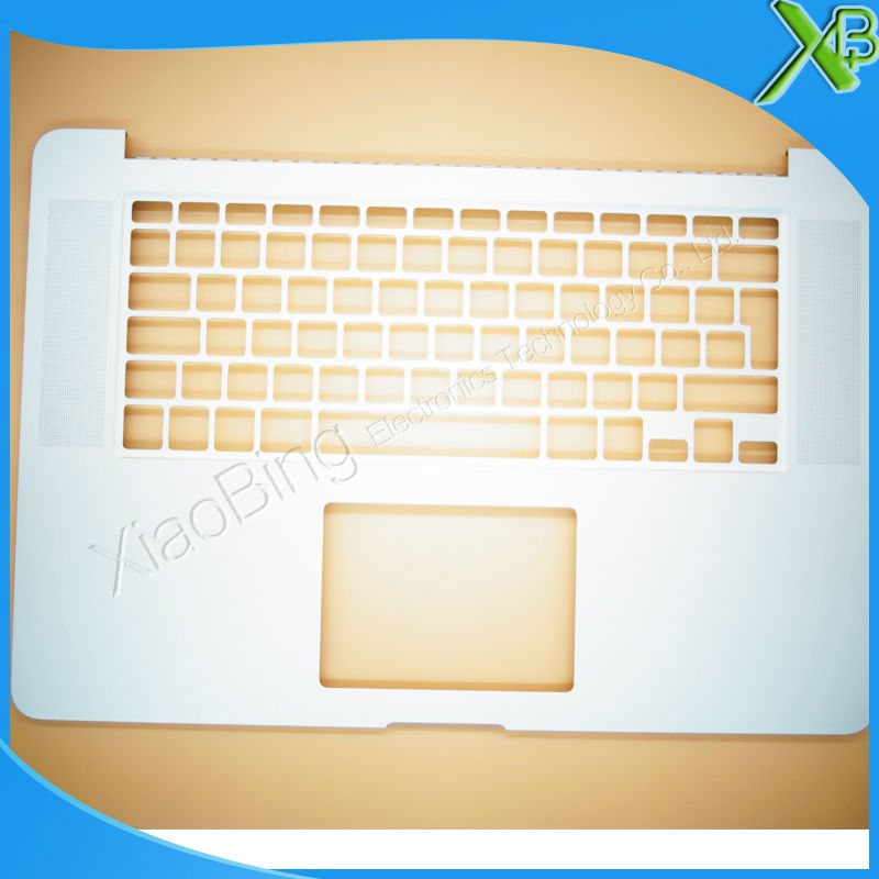 New PO SW DK EU RU UK SP FR GR DE IT TopCase Palmrest for Macbook Pro Retina 15.4 A1398 2015-2016 years wiki uk ru