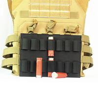 Tactical 14 Round 12 Gauge 12GA Bullet Shell Molle Pouch Military Airsoft Hunting Accessories Bag Ammo Carrier Magazine Holder|Pouches|   -