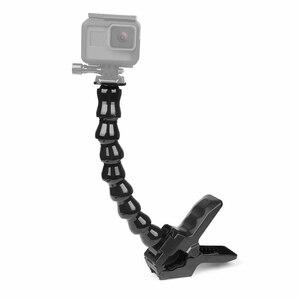 Image 5 - 撮影ポータブルジョーズフレックス移動プロヒーロー9 7 8 5黒sjcam M20 xiaomi李4 18k H9カメラクランプ移動プロ9 8 7アクセサリー