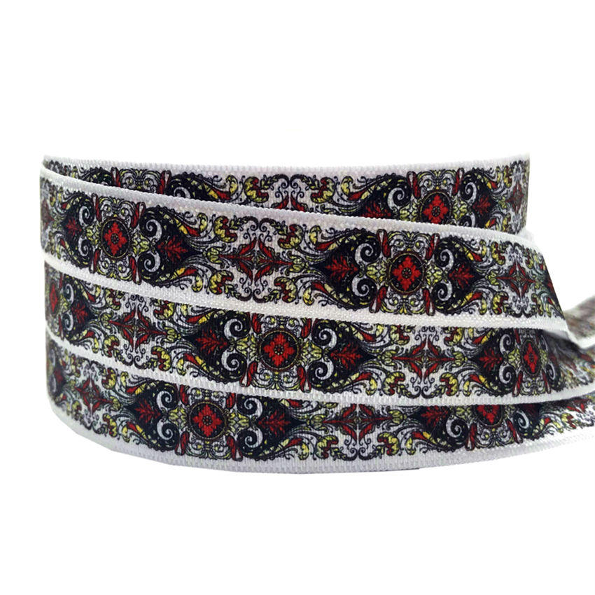 Spider Web Halloween Grosgrain 1m x 16mm Ribbon Craft Sewing Lanyard Collar