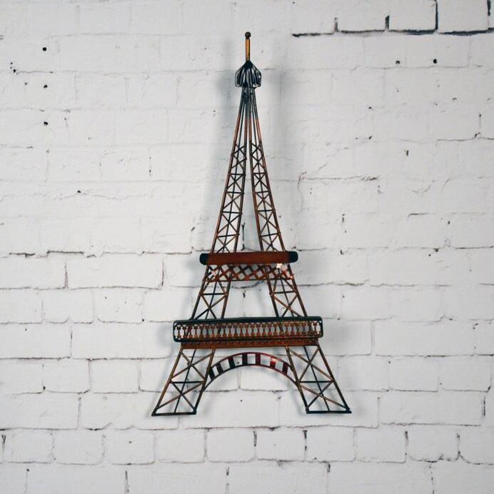 Small Eiffel Tower Wall Decor : Aliexpress buy vintage home decor metal craft eiffel