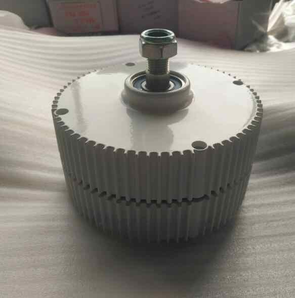 Générateur d'aimant Permanent | Générateur à faible RPM 300W PMG 12V/24V/48V AC sortie, pour éolienne horizontale verticale