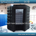 Free shipping 2.4m octagon inflatable photo booth small inflatable photo tent inflatable party tent