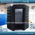 Frete grátis 2.4 m octagon cabine de fotos inflável pequeno inflável foto tenda barraca do partido inflável