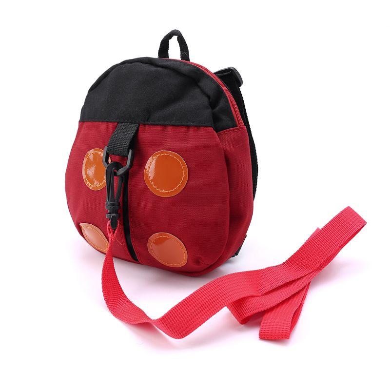 Mochila arnés de seguridad para bebés, correa para niños, bolsa de animales de dibujos animados antipérdida