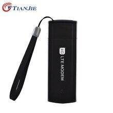 TIANJIE 4G LTE 100 Мбит/с разблокированный универсальный портативный USB модем сетевой адаптер 3g/4G с разъемом для sim-карты мини USB Dongle модем