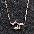 AAA+ Cubic Zirconia Classic Necklaces&Pendants Fashion Women Charming Chain Necklace Chocker Necklace Bijou Jewelry(X0241)