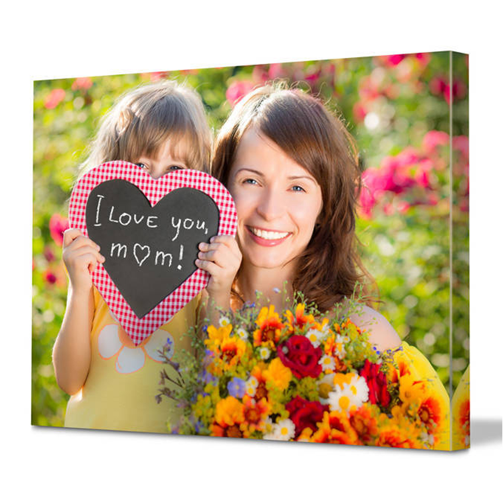 Hot Sale Custom Prints On Canvas Print Your Photos or Pictures For Mothers Day Gifts Home Decoration