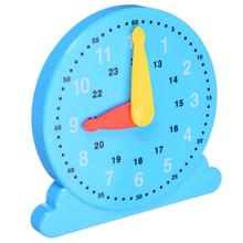 1 PC Adjustable Time Clock Children Learning Toy Teaching Number Kids Time Educational Toys Gift New все цены