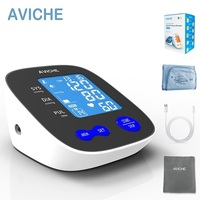 Professional Automatic Digital Arm Blood Pressure Monitor Large Backlight LCD Display Talking Pulse Rate 22 42cm BP Cuff Machine