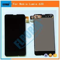 FLPORIA 100 Tested Display For Nokia Lumia 630 635 LCD Display Touch Screen With Digitizer Assembly