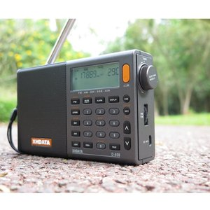 Image 5 - XHDATA D 808 Portable Digital Radio FM Stereo/SW/MW/LW SSB AIR RDS Multi Band Radio Speaker with LCD Display Alarm Clock  Radio