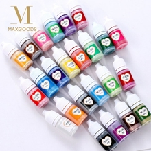5ml Pearlescent Mica Pigment Powder Rainbow UV Resin Epoxy For DIY Jewelry Making 24 Colors Making Crafts Jewelry Accessories-in Jewelry Tools & Equipments from Jewelry & Accessories on Aliexpress.com | Alibaba Group