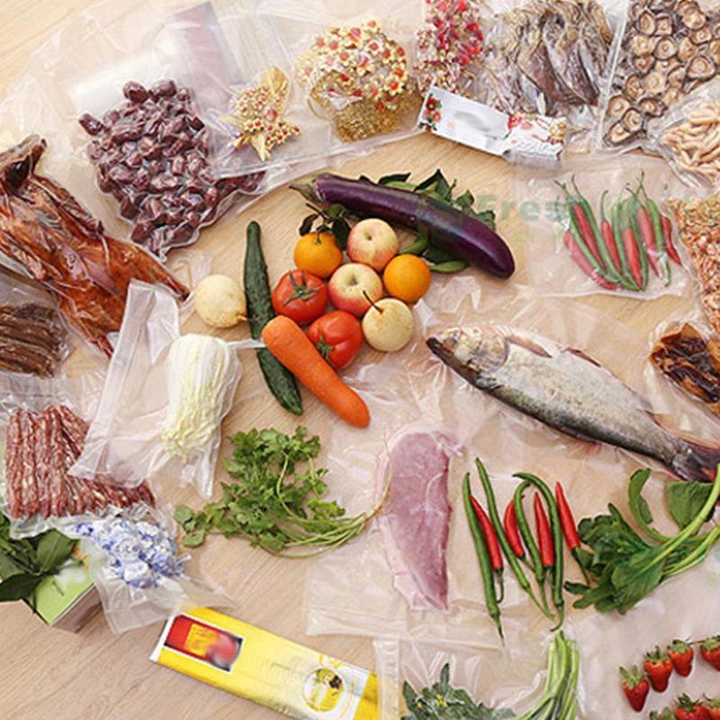 100 pcs/lot sac Sous Vide alimentaire scelleur Sous Vide sacs Sous Vide pour nourriture Sous Vide Machine à emballer sacs sacs de rangement de cuisine 4
