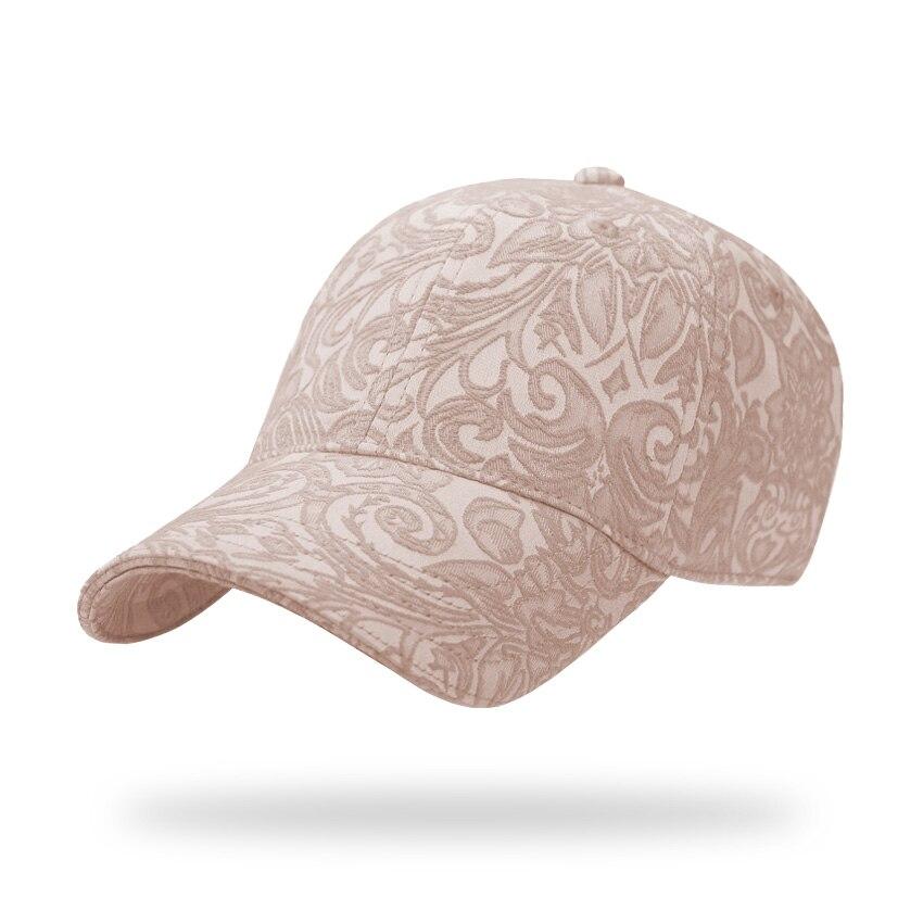 Prix pour Nouvelle réglable floral coton strapback casquette de baseball femmes hommes d'été unisexe chapeau de soleil de haute qualité os gorras