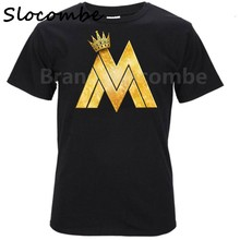 Maluma Reggaeton Singer Mens & Womens Custom T Shirt Casual T-Shirt(China)