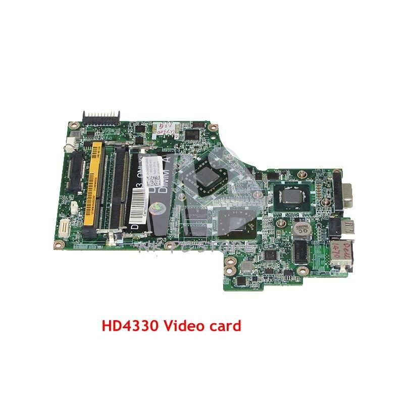 NOKOTION For Dell inspiron 1570 1470 Laptop Motherboard DA0UM2MBAC0 CN-04580M 04580M 5GFXR MAIN BOARD HD4330 Video card nokotion brand new qcl00 la 8241p cn 06d5dg 06d5dg 6d5dg for dell inspiron 15r 5520 laptop motherboard hd7670m 1gb graphics