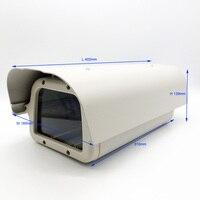 야외 보안 감시 CCTV 카메라 하우징 Alemenum 날씨 증거 방수 카메라 집 Hoesje 알루미늄 402*189*139 미리메터