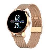 2019 Newwear Q9 1.2 IPS Big Screen Smart Watch Waterproof HR Sensor Blood Pressure Monitor Fashion Fitness Smartwatch Men Women