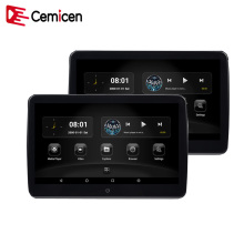 Cemicen 2PCS 10.6 Inch Android 6.0 1920*1080 HD 1080P Capacity Touch Screen Car Headrest Monitor 3G WIFI USB/SD/HDMI/FM/Game