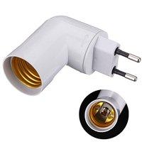 PBT PP E27 taban led ışık lamba tutucu ampul adaptörü dönüştürücü soket ab tak E27