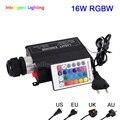 RGBW 16W светодиодный волоконно-оптический драйвер двигателя с 24-клавишным радиочастотным пультом дистанционного управления для всех видов о...